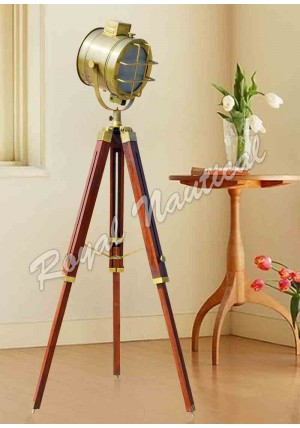 Antique Finish Designer Floor Lamp