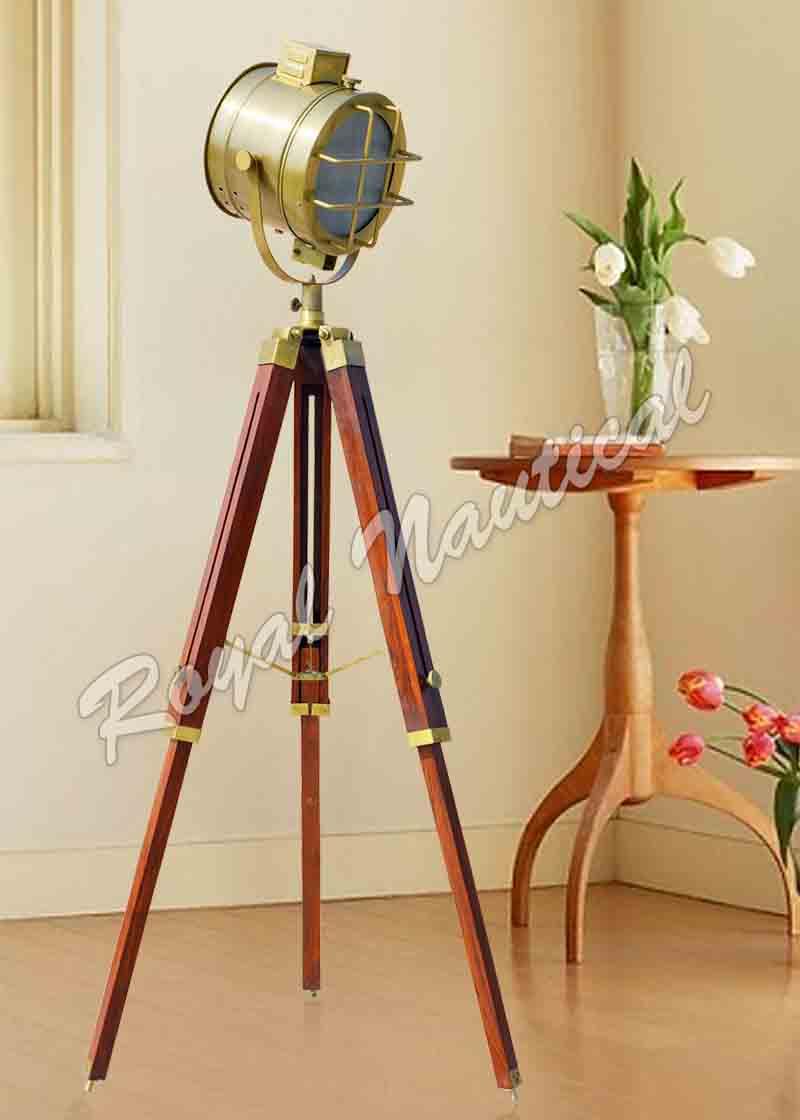 Antique Finish Designer Floor Lamp