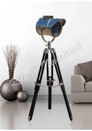 Mini Cap Wooden Floor Lamp