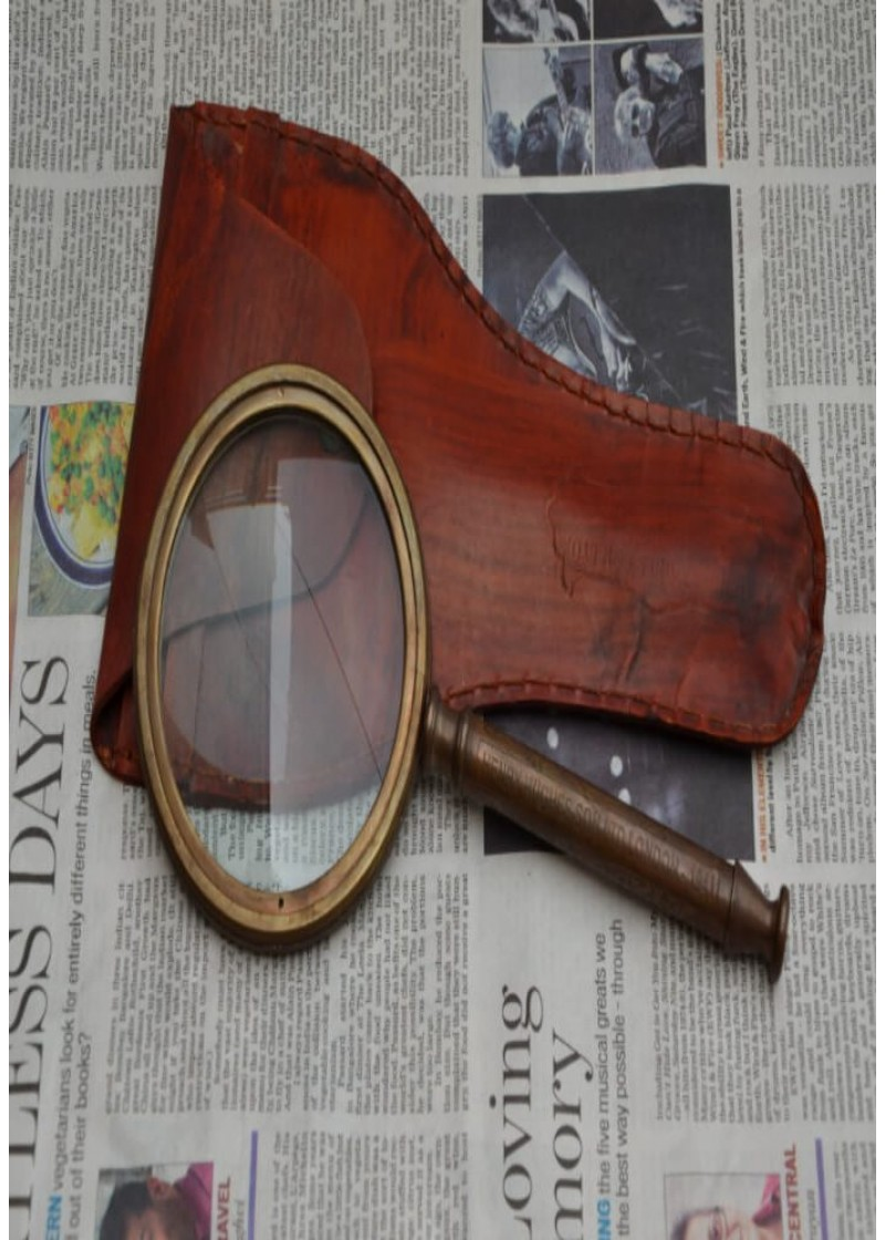 Antique Finish Magnifying Glass