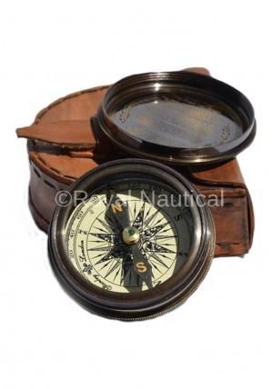 Antique Vintage Pocket Compass