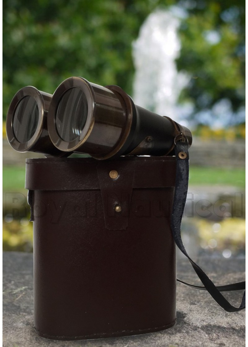 Black Antique Binocular