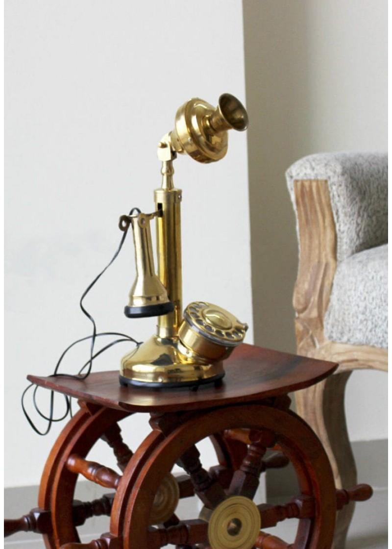 Brass Nautical Phone