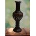Designer Craved Wooden Vase