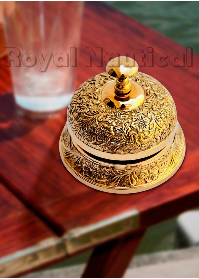 Designer Gold Plated Calling Bell