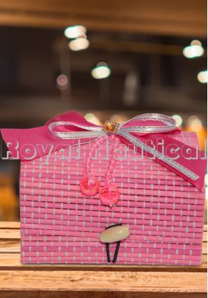 Designer Jute Gift Box