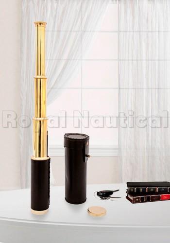 "Designer Brass Binocular 14"""