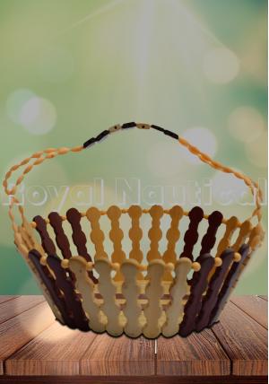 Designer Wooden Fruit Basket