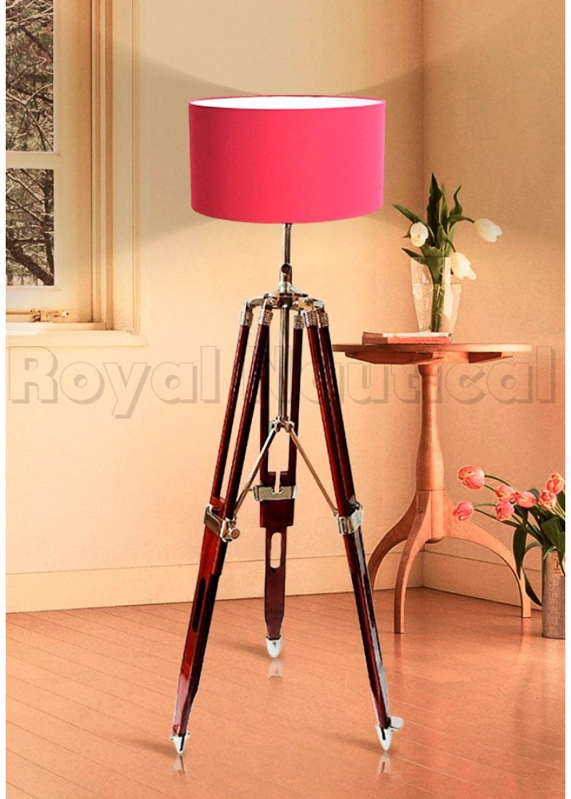 Handmade Floor Tripod Lamp