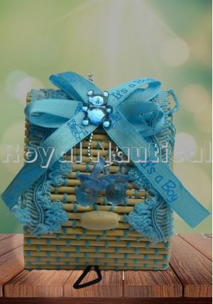 Heart Shape Jute Gift Box