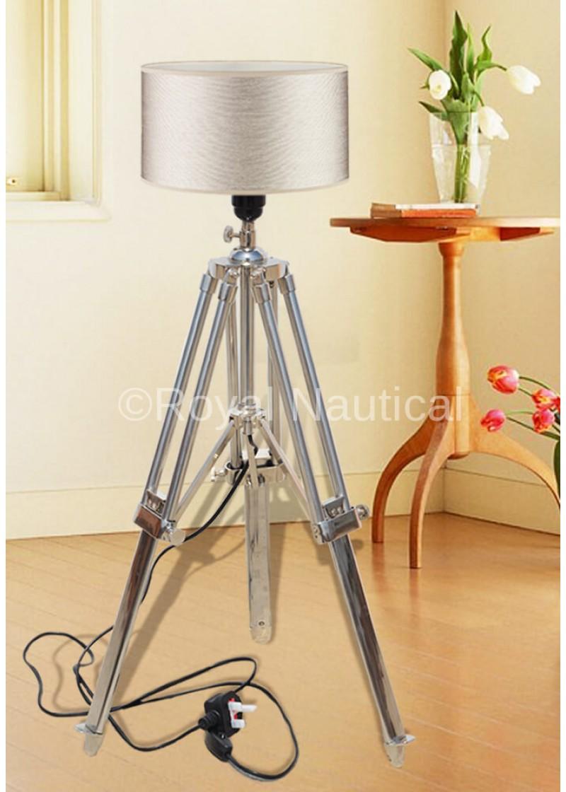 Industrial Retro Tripod Floor Lamp