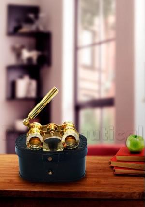 Mini Binocular Solid Brass