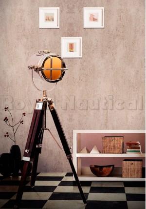Mini chrome light floor lamp