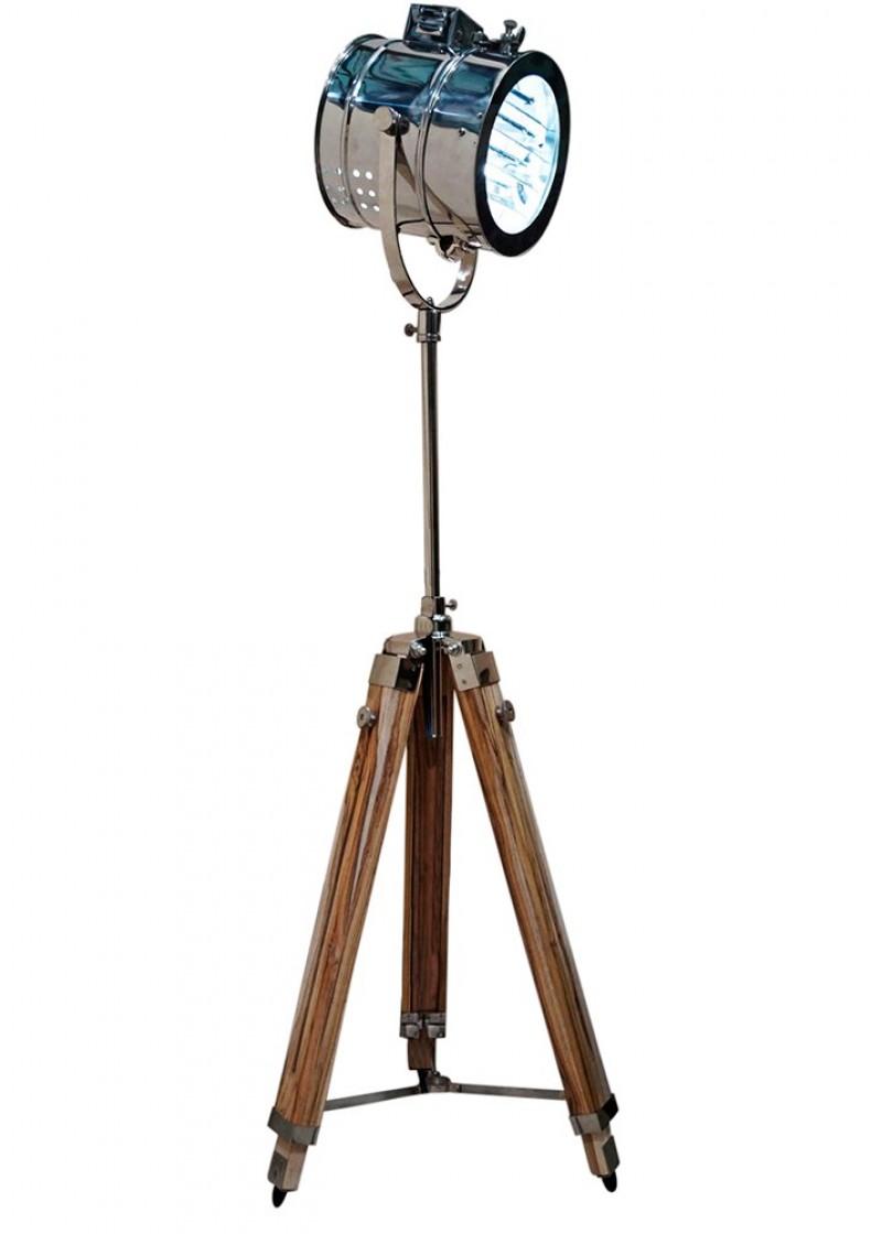 Art Décor: Nautical Spotlight Floor Lamp