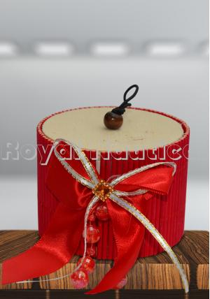 Red Round Shape Gift Box