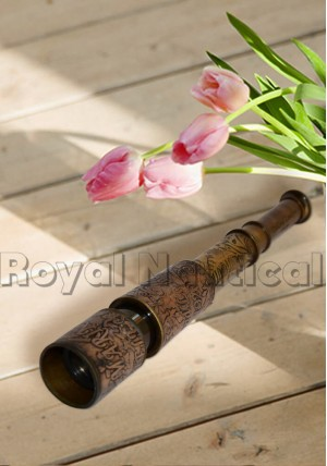 Reproduction Antique Finish Telescope