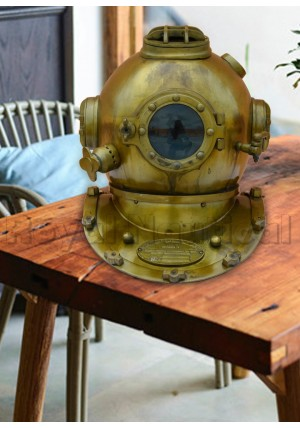 Royal US Navy Divers Helmet