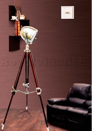 Telescopic Tripod Floor Lamp
