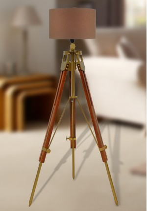 Traditional Wooden Tripod