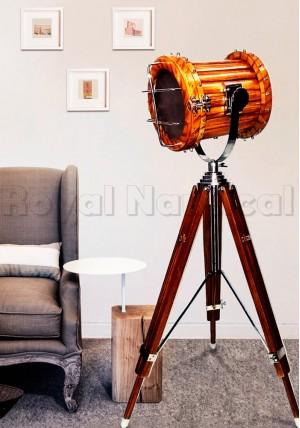Wood Teak Spot Light