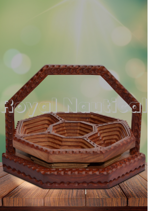 Wooden Dry Fruits Tray