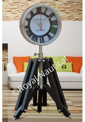 Designer Tripod Clock