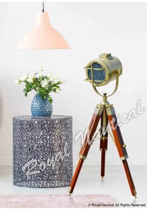 Antique Finish Spot Search Light Mini Lamp